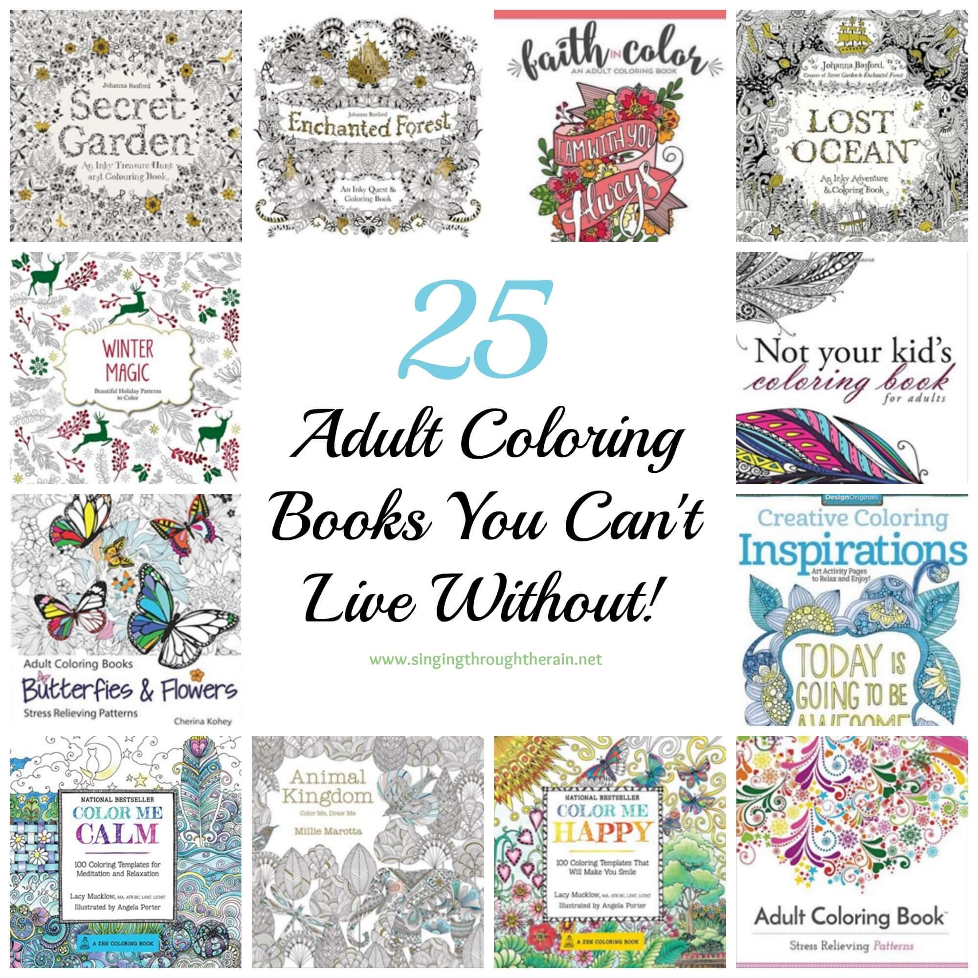 The secret garden coloring book barnes and noble - 25 Incredible Adult Coloring Books Secret Garden