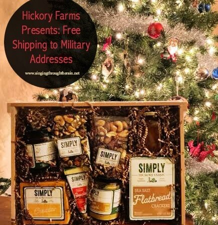 Hickory Farms Presents: Free Shipping to Military Addesses