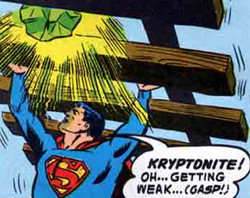 C is for Cake; K is for Kryptonite (1/6)