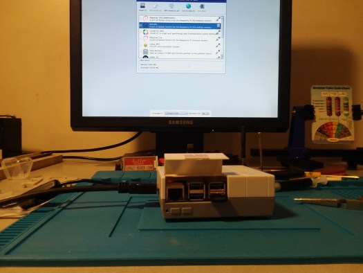 Click on Retro PI and Install