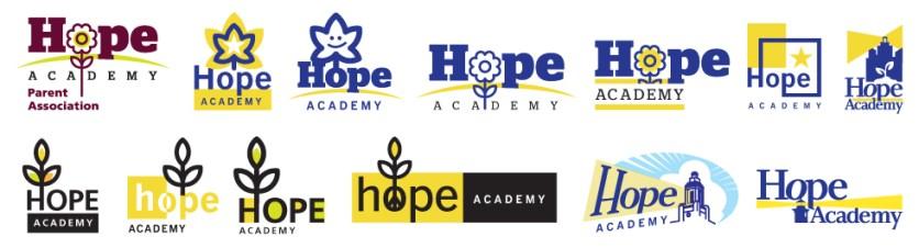 The Hope Academy :: LOGO EXPLORATION