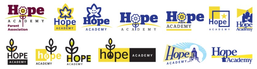 The Hope Academy :: LOGO EXPLORATION