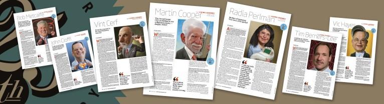 Network World magazine :: LIVING LEGENDS