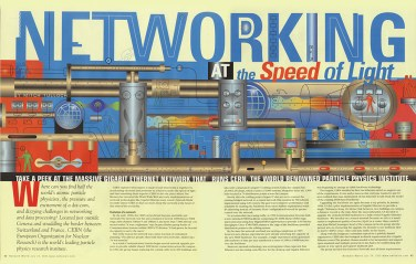 Network World magazine :: SPEED OF LIGHT