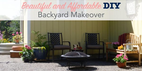 Beautiful and affordable backyard makeover
