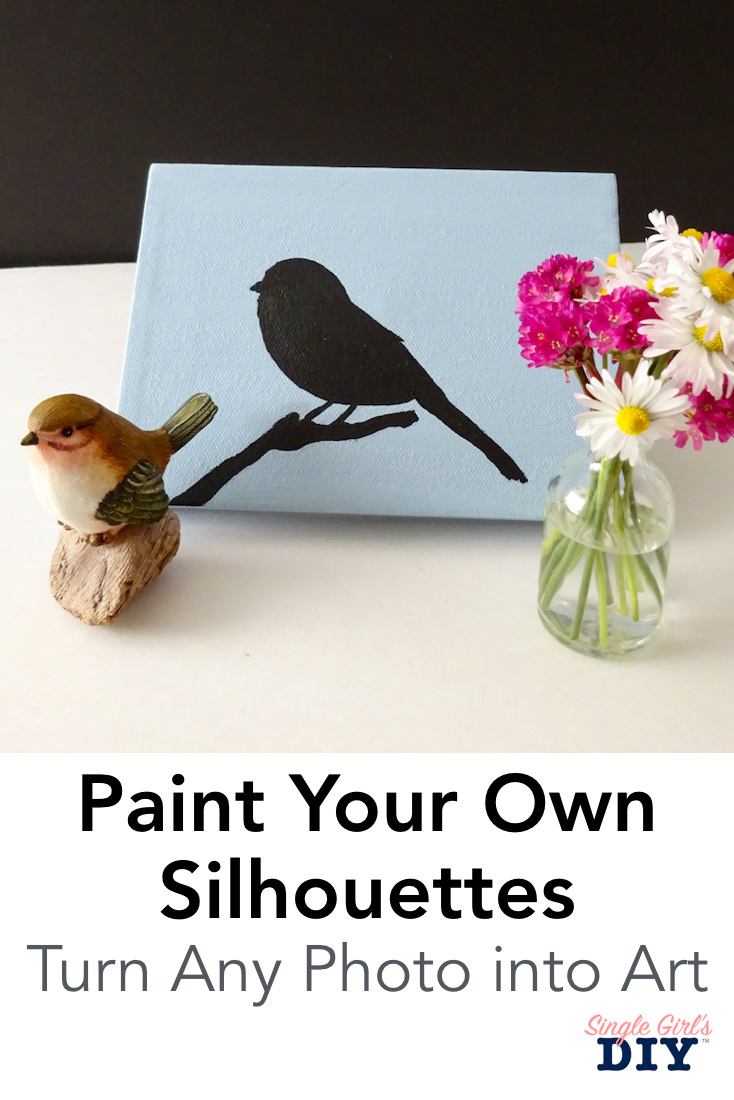Paint your own silhouettes