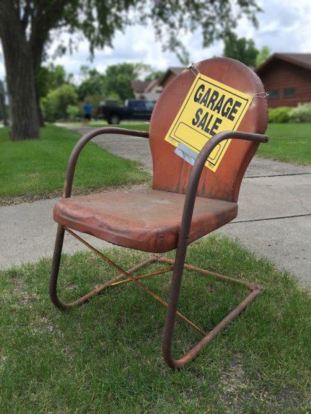 Have a garage sale