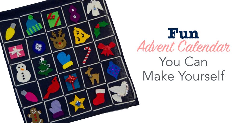 Fun advent calendar you can make yourself
