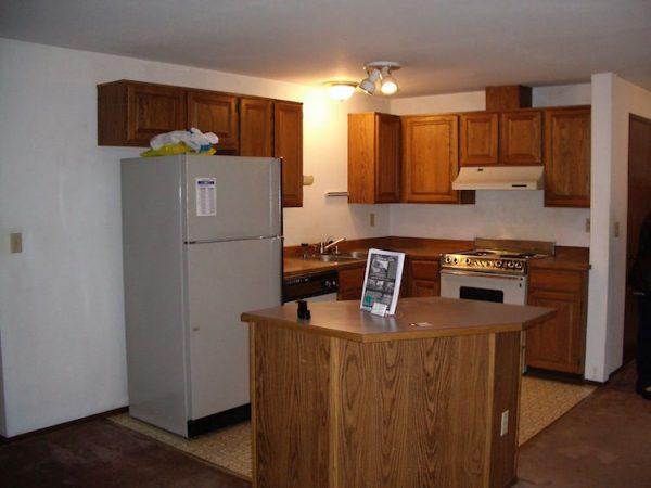 Remove a kitchen island