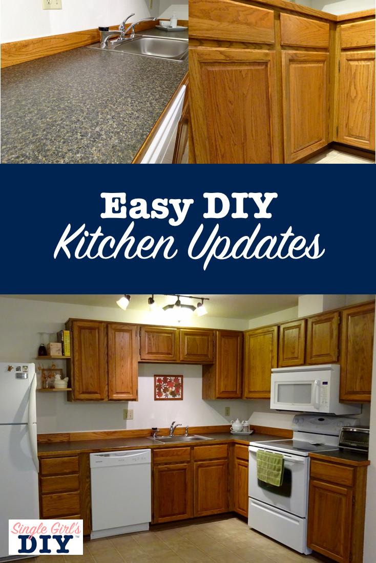 Easy diy kitchen updates