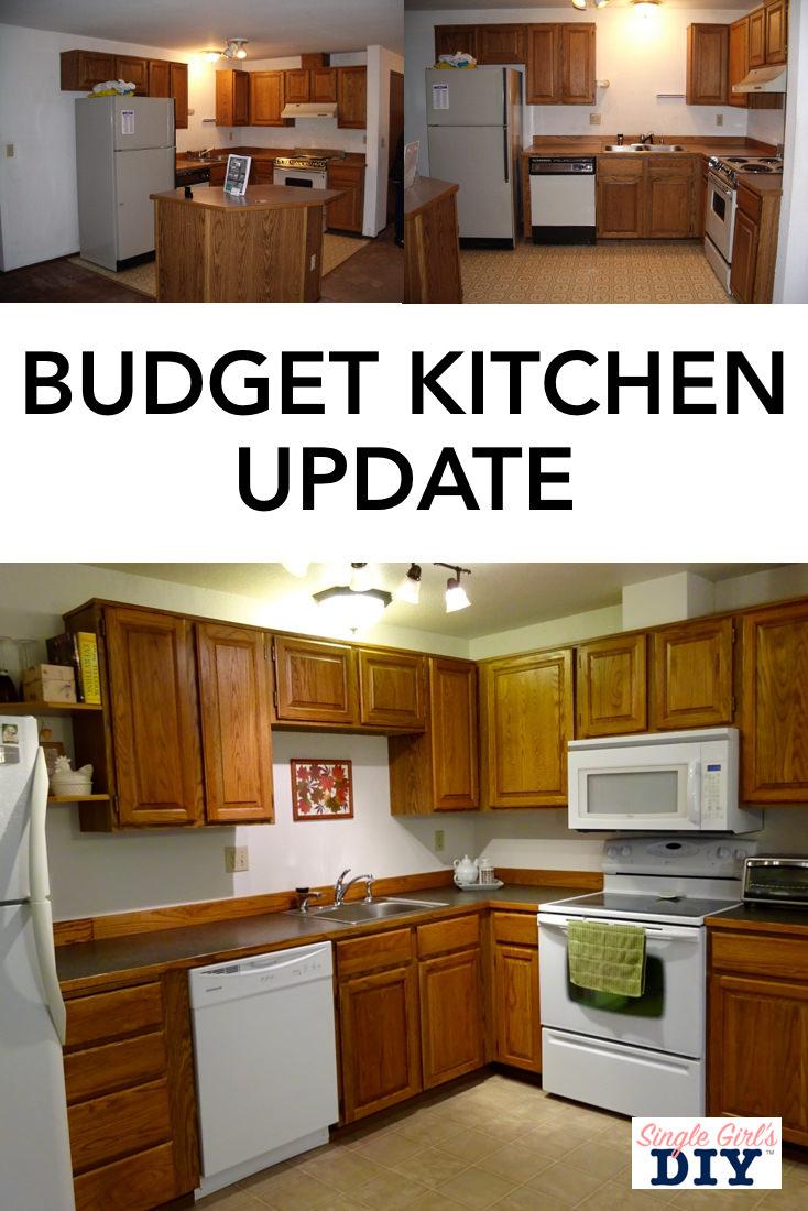Budget kitchen update ideas