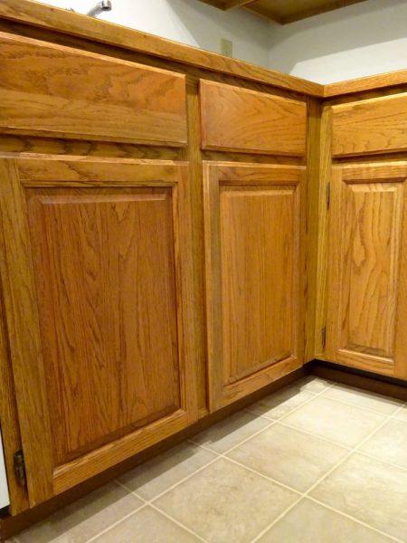 Easy DIY cabinet refinishing