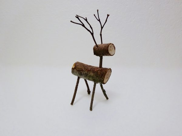 Christmas stick reindeer