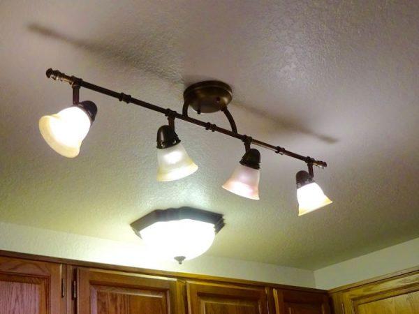 Update kitchen lighting