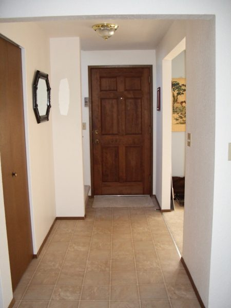 entryway in a home