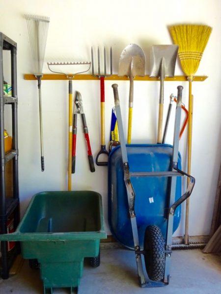Organize garage zones
