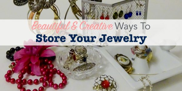 Beautiful and creative ways to store your jewelry