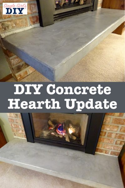 Quick And Easy Hearth Update With No Demolition Required