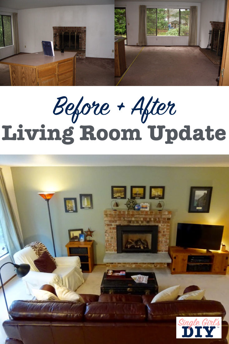 DIY Living Room Update
