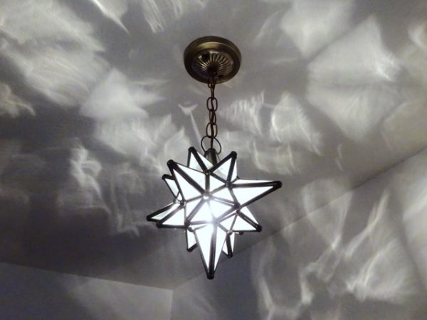 Moravian Star Light Fixture