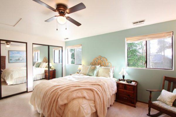 Cozy bedroom update