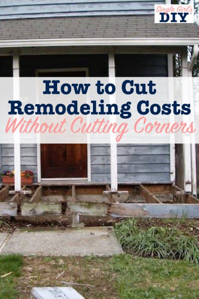 How to cut remodeling costs without cutting corners
