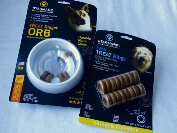 Treat ring for puppies