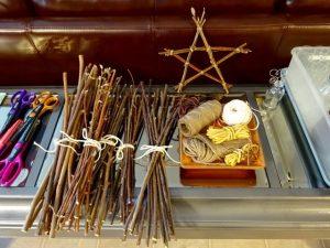 Supplies for stick stars