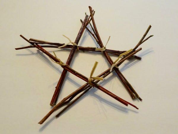 DIY twig star