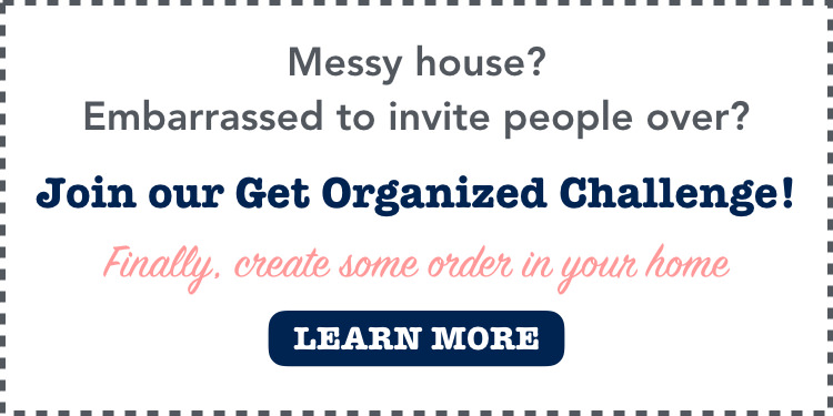 Join the Get Organized Challenge