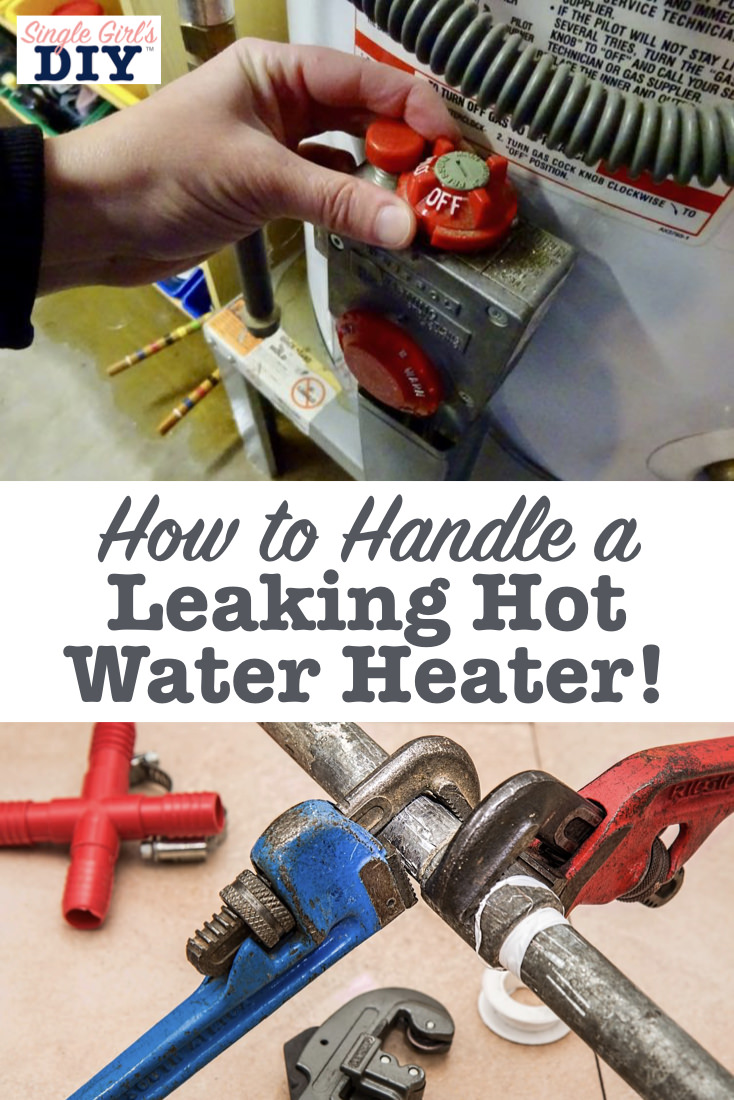 How to handle a leaking hot water heater