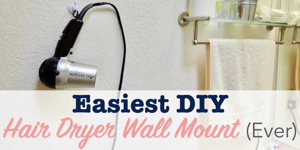 Hair dryer wall mount title image