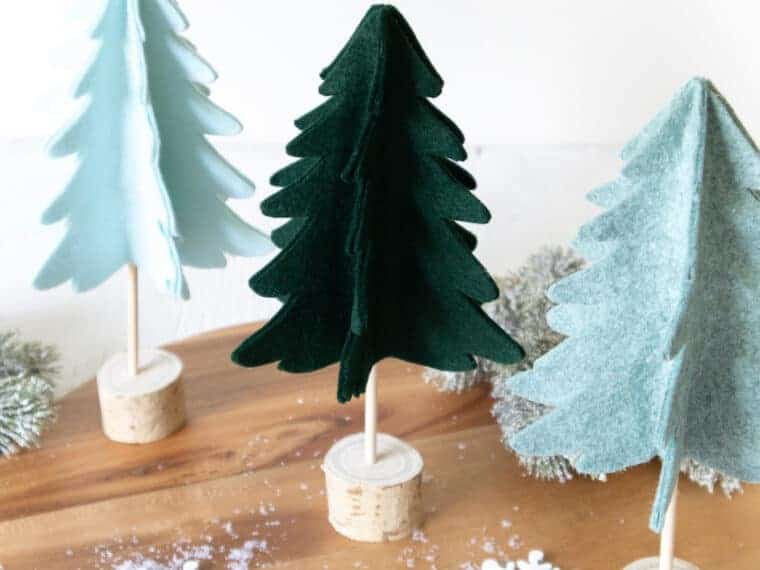 3D felt Christmas tree Pattern