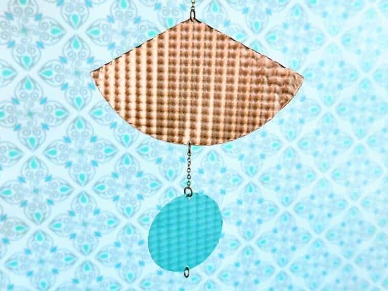 cricut metal wall hanging craft