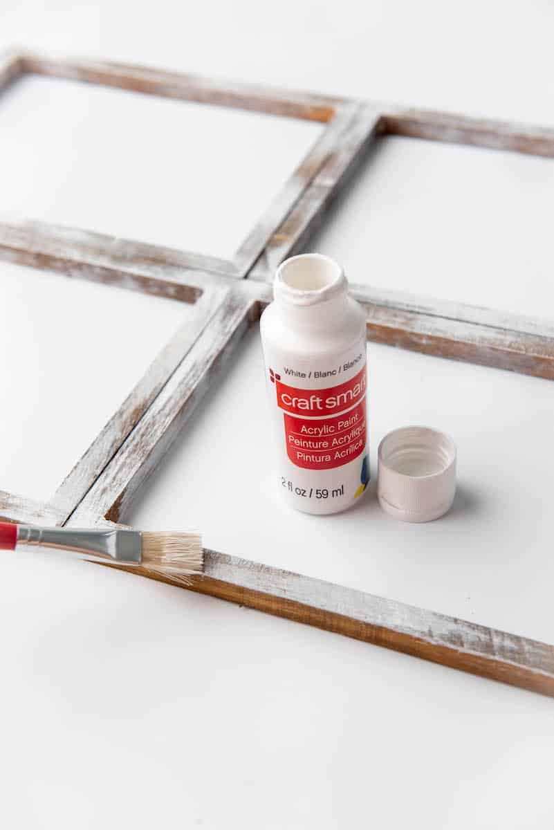 painting wooden frames