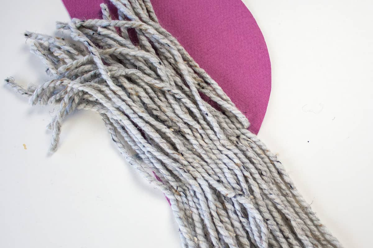 Yarn Strands for DIY