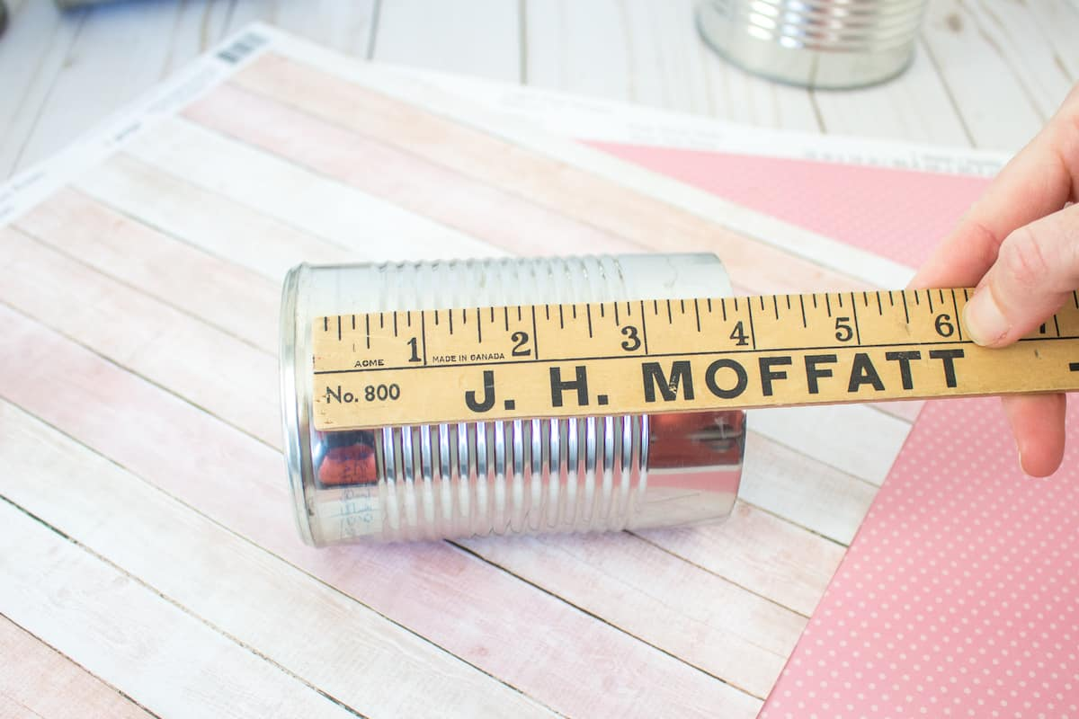 Measuring Tin Can for Craft