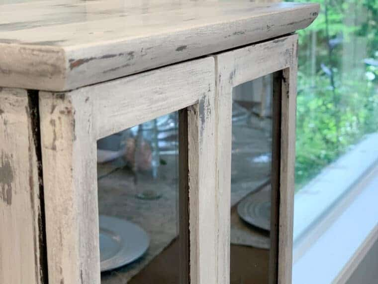 Antiqued Distressed furniture with vaseline tutorial