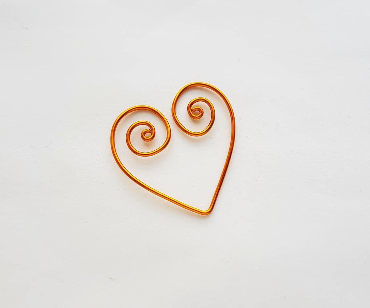 Wire Heart Bookmark Tutorial
