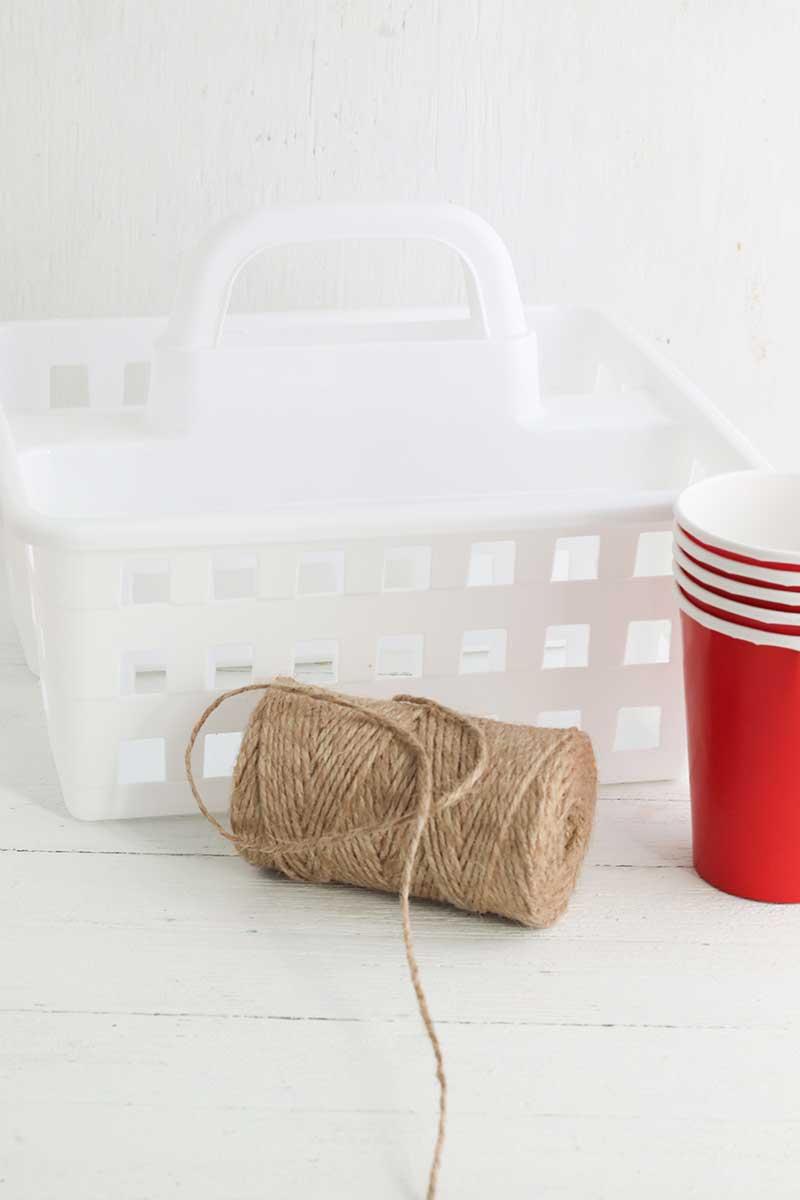 Craft Organization supplies from Dollar Tree