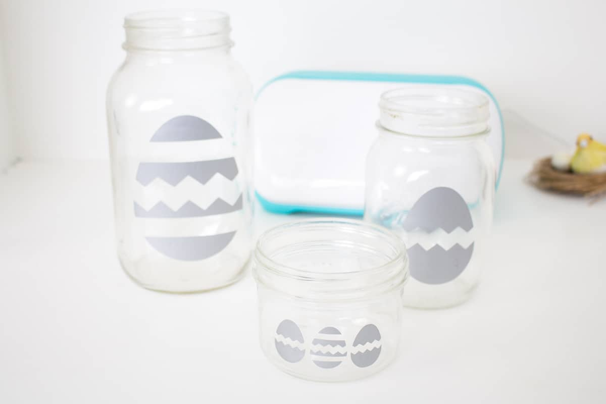 Mason Jar Easter Craft Step 13