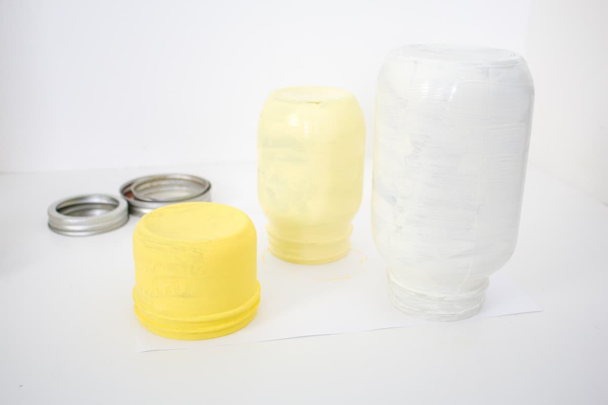 Mason Jar Easter Craft Step 15