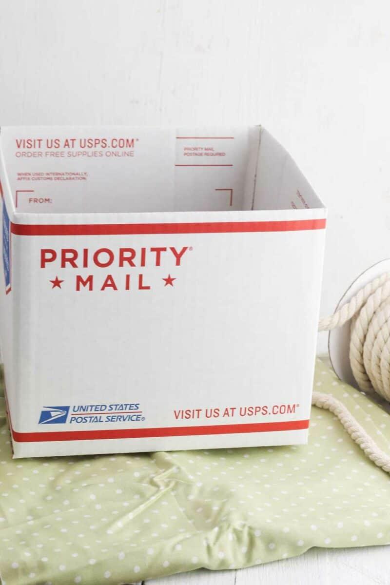 DIY Decorative Storage Box Supplies