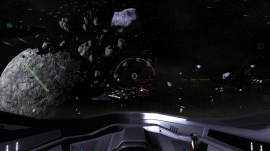 An ISC cruiser defends itself.