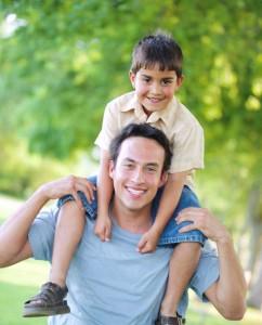 un padre y su hijo, single life punto es
