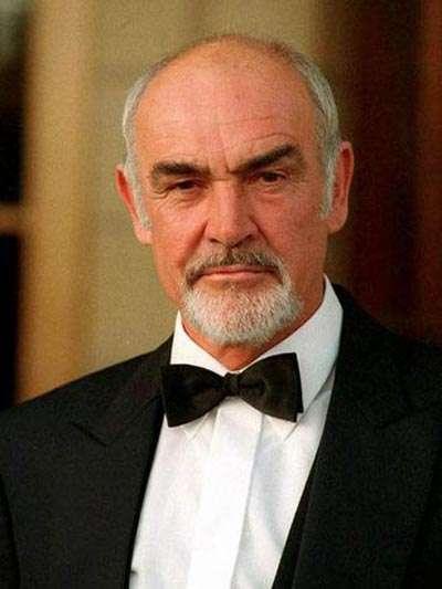 Sean Connery, top 10 calvos famosos y sexys, el blog del single