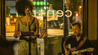 Jazz performer Krystle Dos Santos during the Verse & Verve shoot