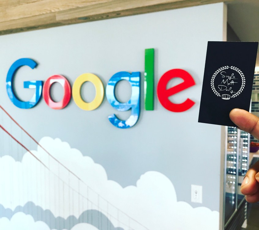 Google's first office scotch tasting