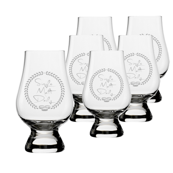 6 Glencairn glass set