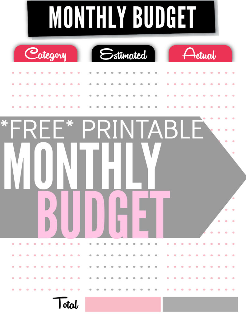 How To Create A Budget Plus Free Budget Worksheet